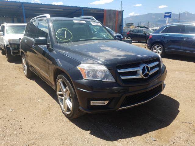 Salvage cars for sale from Copart Colorado Springs, CO: 2011 Mercedes-Benz GLK 350 4M