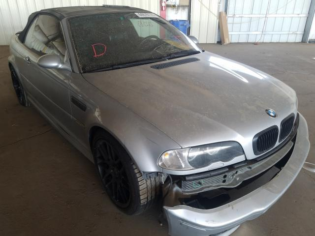 BMW salvage cars for sale: 2002 BMW M3
