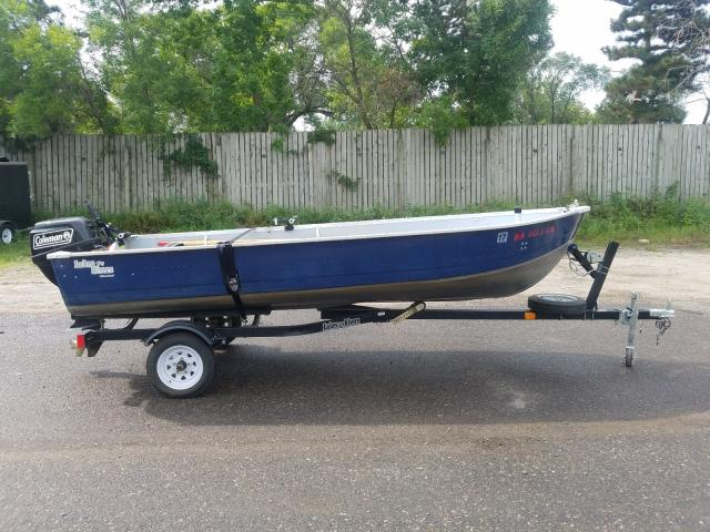 Salvage 2011 Mirro Craft BOAT for sale