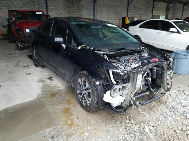 Salvage cars for sale from Copart Cartersville, GA: 2013 Honda Civic EXL