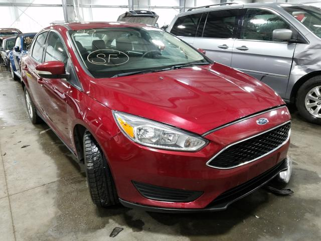 Salvage cars for sale from Copart Ham Lake, MN: 2015 Ford Focus SE