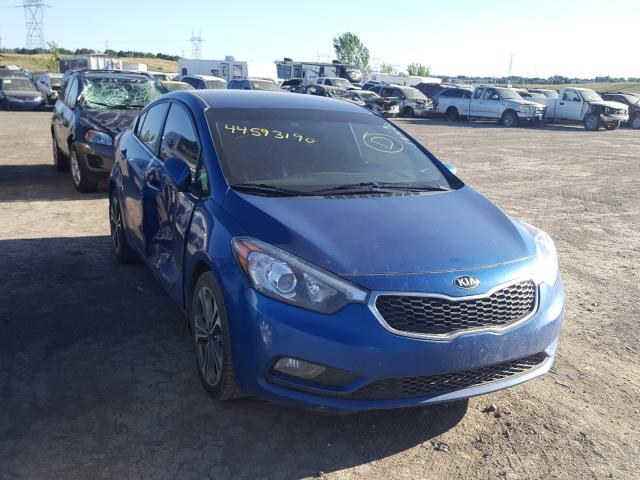 Salvage cars for sale from Copart Billings, MT: 2014 KIA Forte EX
