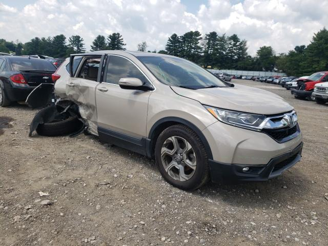 Salvage cars for sale from Copart Finksburg, MD: 2017 Honda CR-V EXL