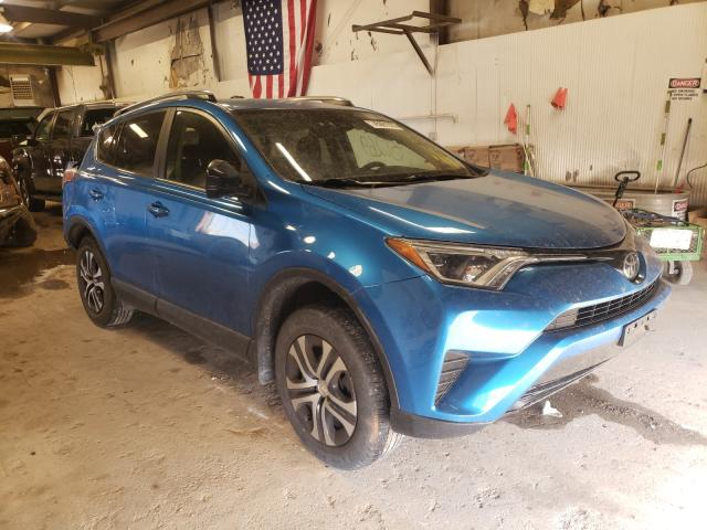 Toyota Rav4 LE salvage cars for sale: 2017 Toyota Rav4 LE