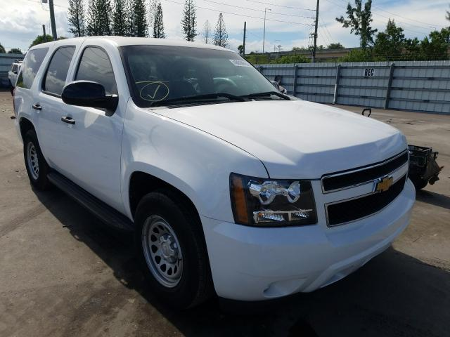 Chevrolet Tahoe Police salvage cars for sale: 2013 Chevrolet Tahoe Police
