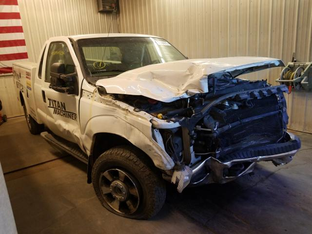 Salvage cars for sale from Copart Avon, MN: 2012 Ford F350 Super