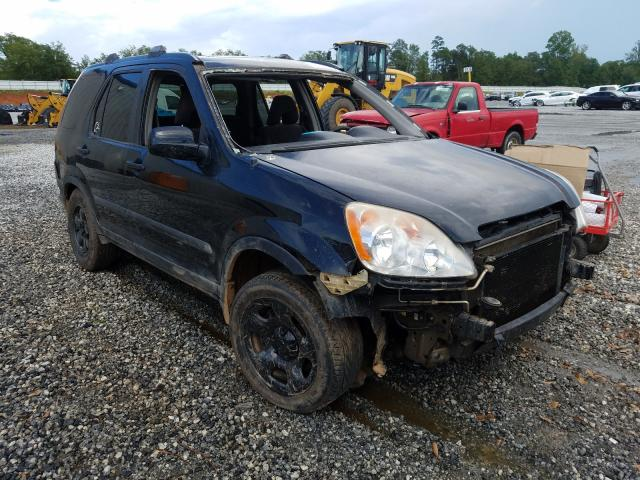 Salvage cars for sale from Copart Spartanburg, SC: 2006 Honda CR-V EX
