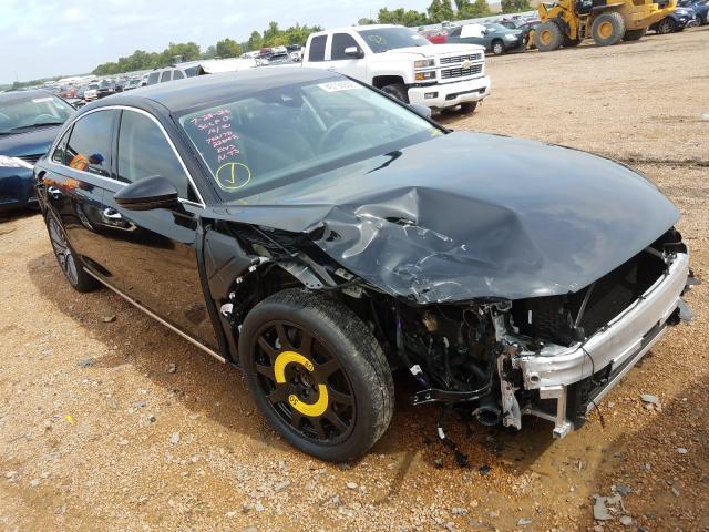 Salvage cars for sale from Copart Bridgeton, MO: 2019 Audi A8 L