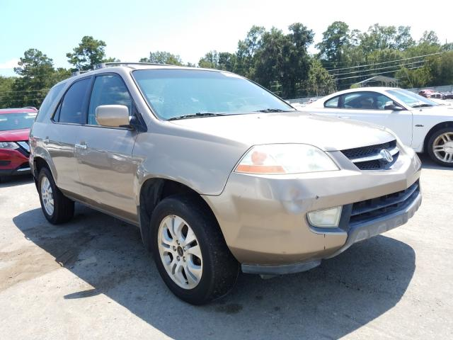 Salvage cars for sale from Copart Savannah, GA: 2003 Acura MDX Touring
