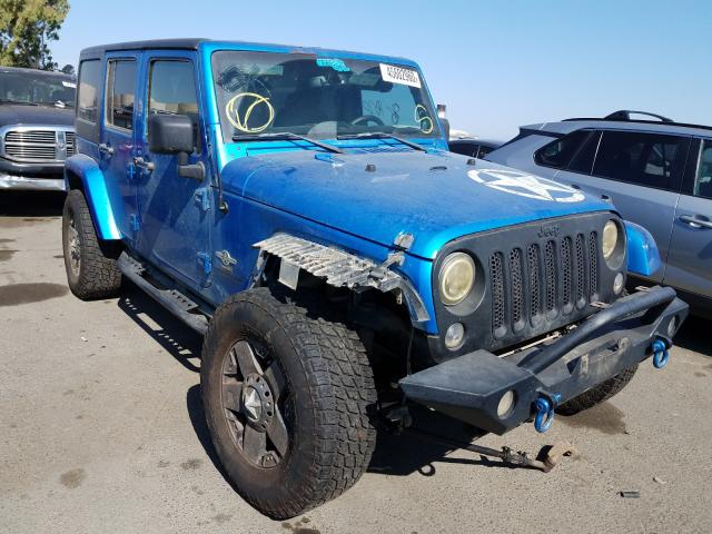 Jeep salvage cars for sale: 2014 Jeep Wrangler U