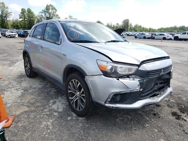 Mitsubishi salvage cars for sale: 2017 Mitsubishi Outlander