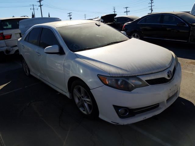Salvage cars for sale from Copart Sun Valley, CA: 2012 Toyota Camry Base