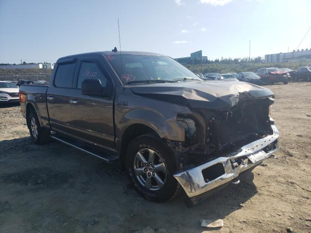 Salvage cars for sale from Copart Cow Bay, NS: 2019 Ford F150 Super
