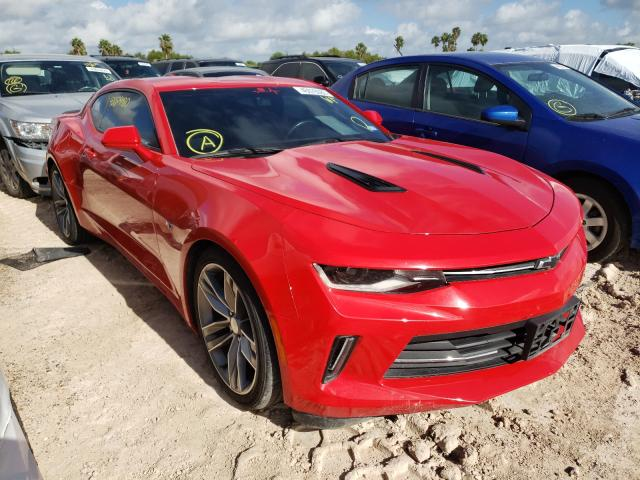 Salvage cars for sale from Copart Mercedes, TX: 2018 Chevrolet Camaro LT