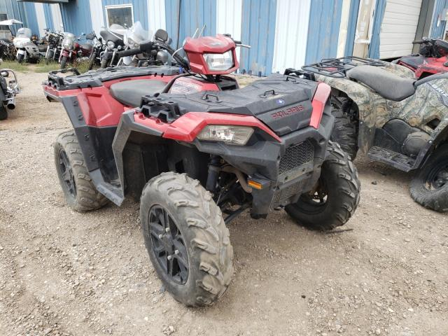Salvage cars for sale from Copart Casper, WY: 2018 Polaris Sportsman