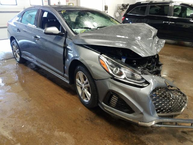 Salvage cars for sale from Copart Blaine, MN: 2018 Hyundai Sonata Sport