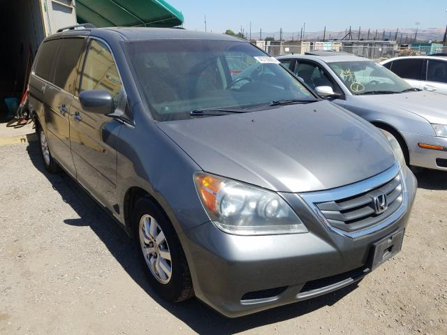 Salvage cars for sale from Copart San Martin, CA: 2008 Honda Odyssey EX
