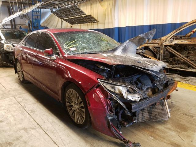 Salvage cars for sale from Copart Wheeling, IL: 2013 Lincoln MKZ