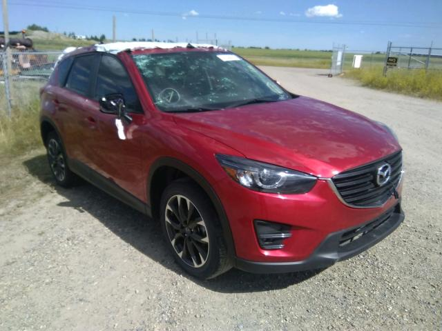 Salvage 2016 MAZDA CX-5 GT - Small image. Lot 41344470