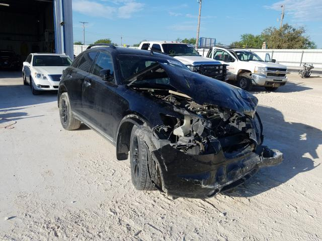 Salvage cars for sale at Abilene, TX auction: 2004 Infiniti FX35