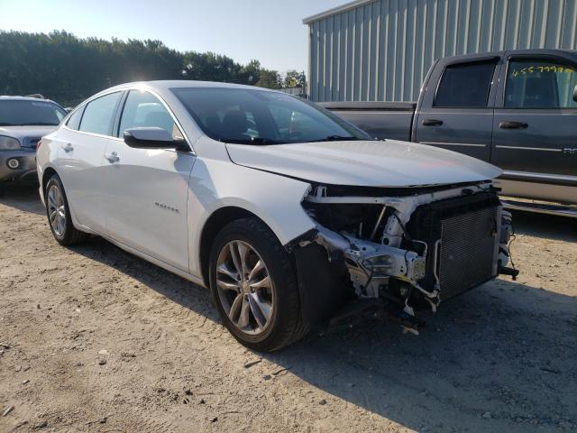 Salvage cars for sale from Copart Hampton, VA: 2016 Chevrolet Malibu LT