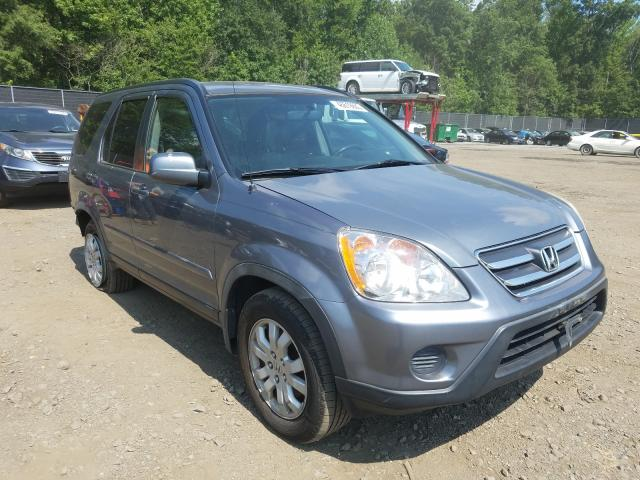 Honda CR-V salvage cars for sale: 2005 Honda CR-V