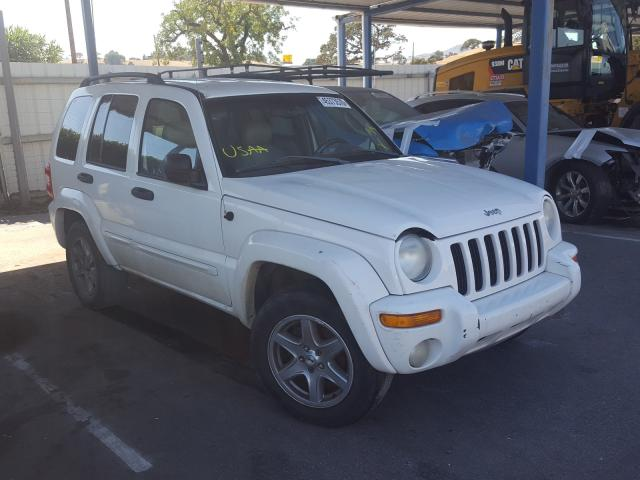 Jeep Liberty LI salvage cars for sale: 2003 Jeep Liberty LI