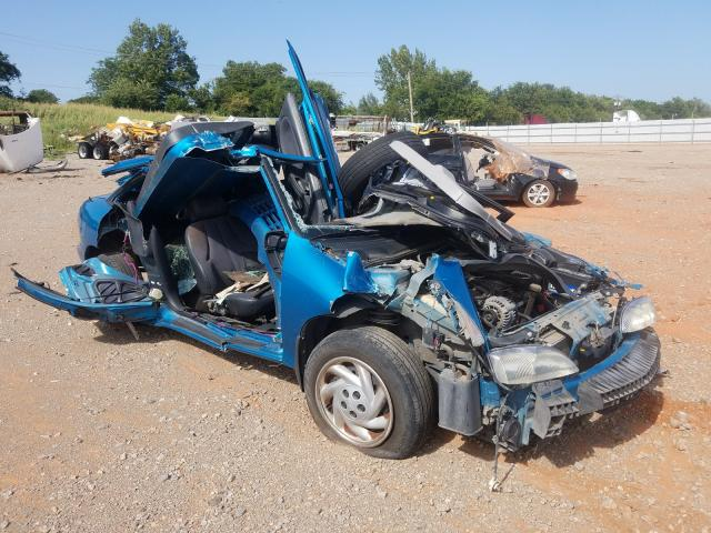 Salvage cars for sale from Copart Oklahoma City, OK: 1997 Chevrolet Cavalier B