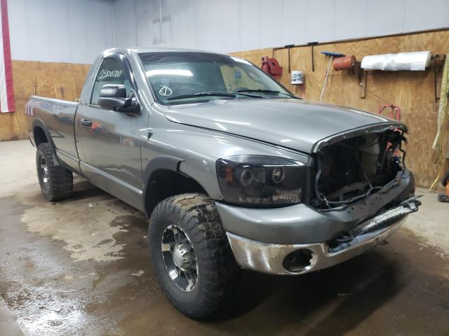 Salvage 2007 DODGE RAM 2500 - Small image. Lot 25838700