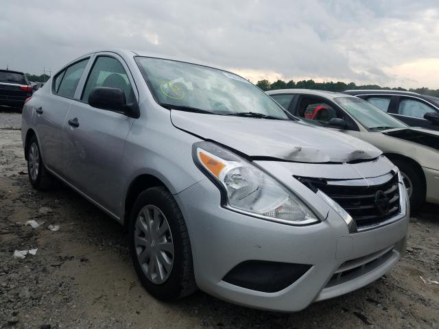 Salvage cars for sale from Copart Loganville, GA: 2015 Nissan Versa S