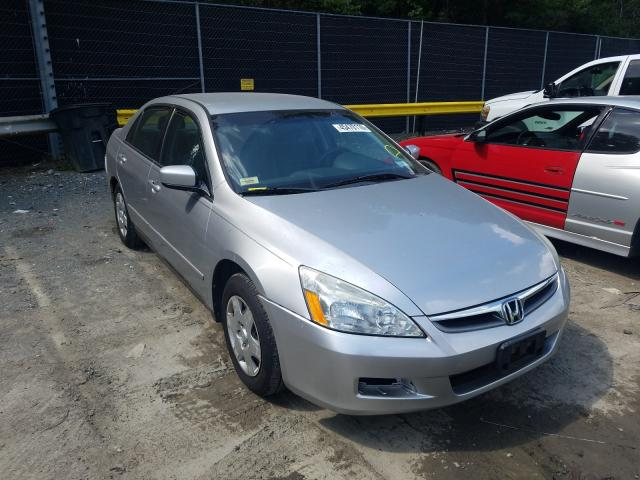 Salvage cars for sale from Copart Waldorf, MD: 2007 Honda Accord LX