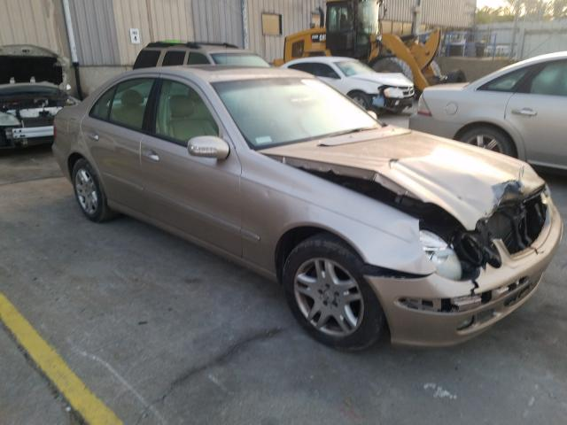 Salvage cars for sale from Copart Lawrenceburg, KY: 2003 Mercedes-Benz E 320