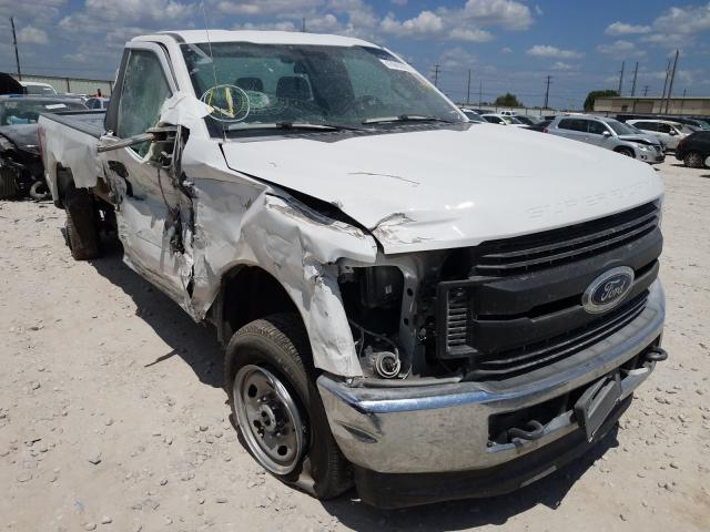 Salvage cars for sale from Copart Haslet, TX: 2019 Ford F250 Super
