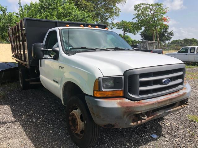 Ford F550 Super salvage cars for sale: 2000 Ford F550 Super
