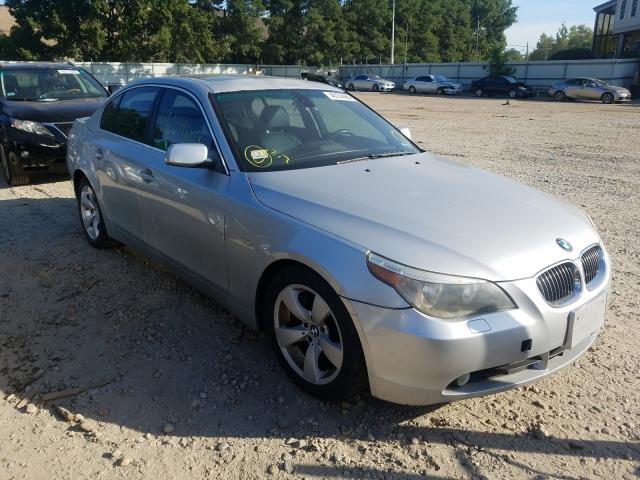 Salvage cars for sale from Copart North Billerica, MA: 2007 BMW 525 I