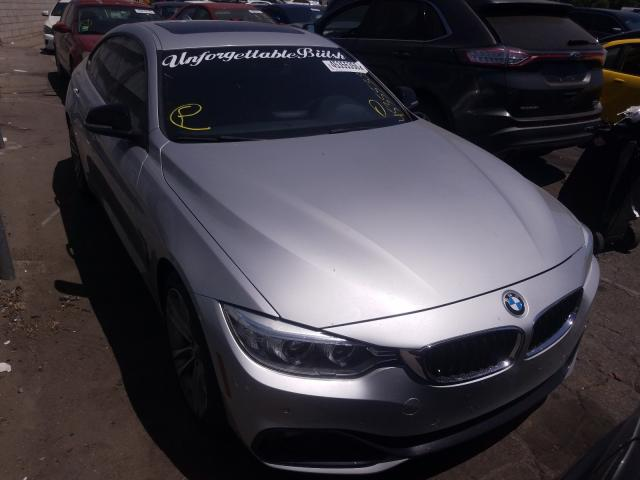 Salvage cars for sale from Copart Colton, CA: 2015 BMW 435 I Gran