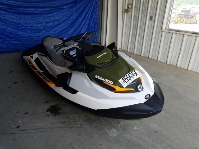 Salvage cars for sale from Copart Ellwood City, PA: 2019 Seadoo Jetski