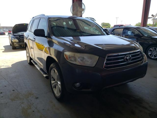 Salvage cars for sale from Copart Wilmer, TX: 2008 Toyota Highlander