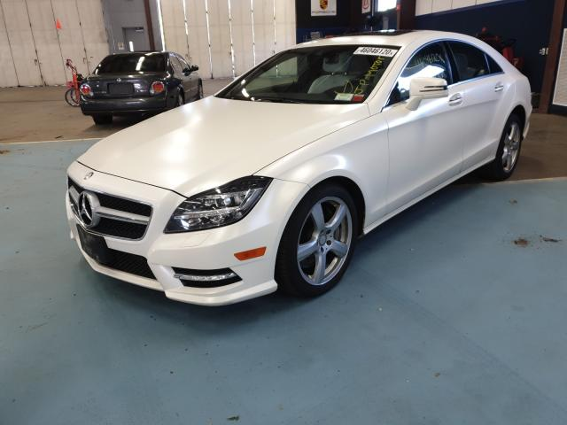 из сша 2014 MERCEDES-BENZ CLS 550 4MATIC WDDLJ9BB9EA096599