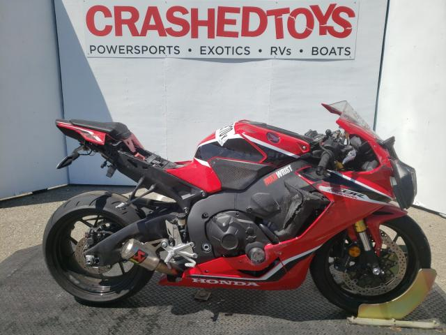 Salvage cars for sale from Copart Rancho Cucamonga, CA: 2018 Honda CBR1000 RR