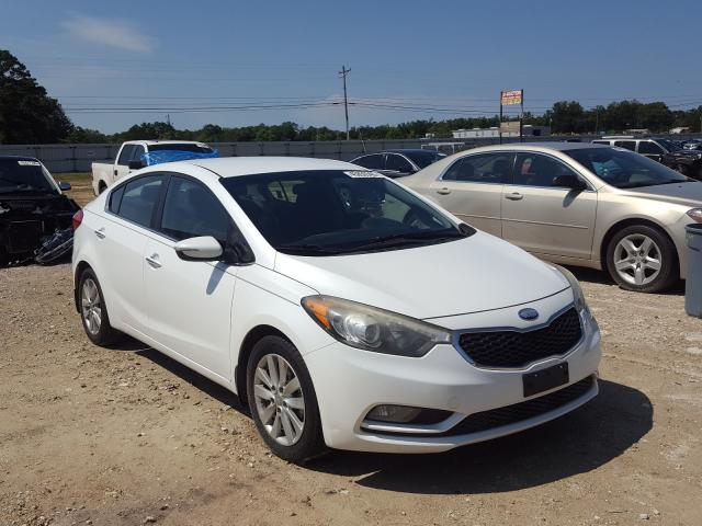 Salvage cars for sale from Copart Newton, AL: 2014 KIA Forte EX