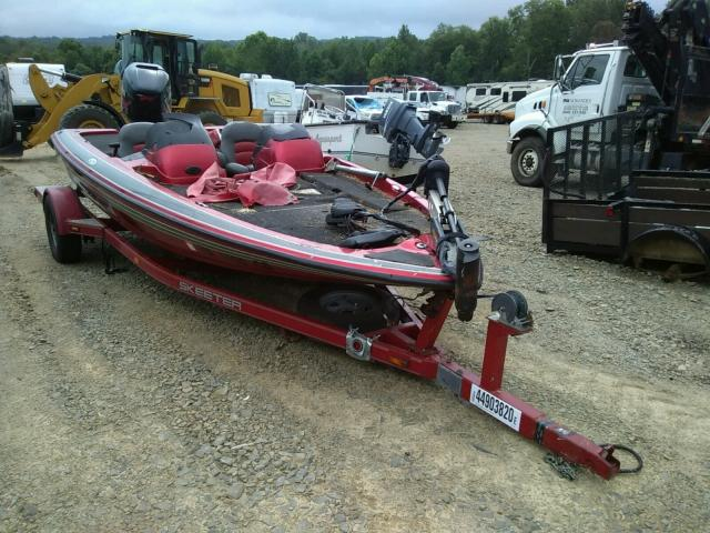 Salvage 2005 Skeeter SX 190 BASE for sale