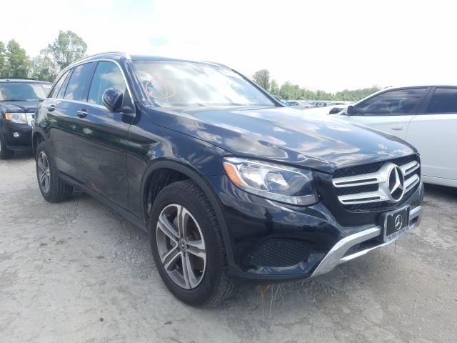 Mercedes-Benz GLC 300 salvage cars for sale: 2019 Mercedes-Benz GLC 300
