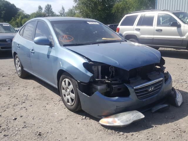 Hyundai Elantra salvage cars for sale: 2007 Hyundai Elantra