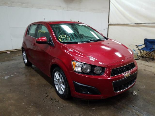 Salvage cars for sale from Copart Davison, MI: 2015 Chevrolet Sonic LT