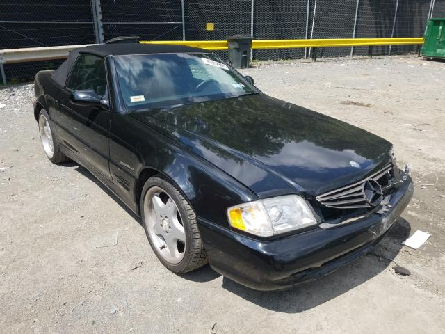 Salvage cars for sale from Copart Waldorf, MD: 2002 Mercedes-Benz SL 500