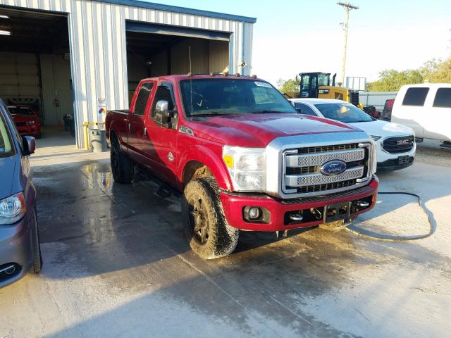 Salvage cars for sale from Copart Abilene, TX: 2014 Ford F350 Super