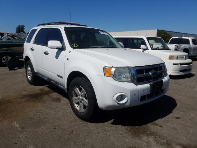 Ford Escape HEV salvage cars for sale: 2008 Ford Escape HEV