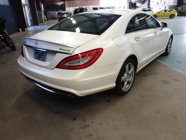 цена в сша 2014 MERCEDES-BENZ CLS 550 4MATIC WDDLJ9BB9EA096599