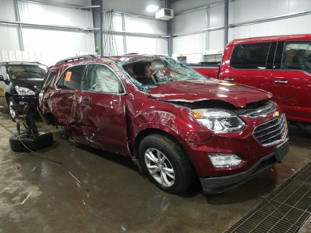 Chevrolet Equinox LT salvage cars for sale: 2016 Chevrolet Equinox LT